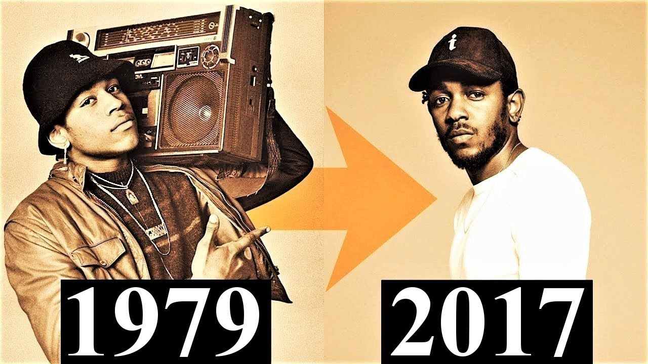 The Evolution Of Hip-Hop [1979 - 2017] - YouTube