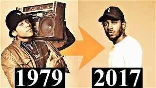 The Evolution Of Hip-Hop [Timeline 1979 - 2017]