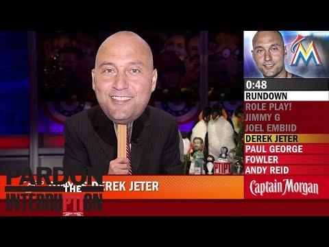 PTI role-plays Joel Embiid, Derek Jeter, Jimmy G and Paul George   Pardon the Interruption   ESPN