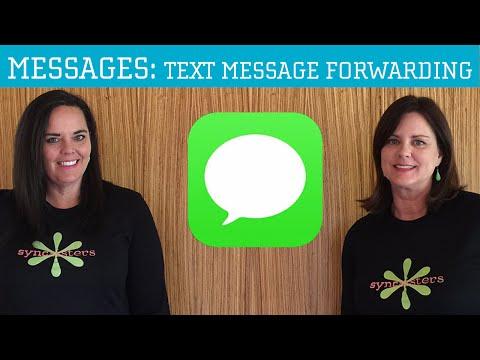 iPhone / iPad Messages App Text Message Forwarding
