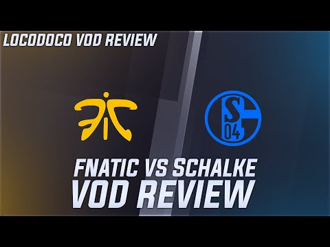 FNC vs S04 - Fnatic's 0-4 start Broken Down - LEC Week 2 Locodoco [ VOD Review ]