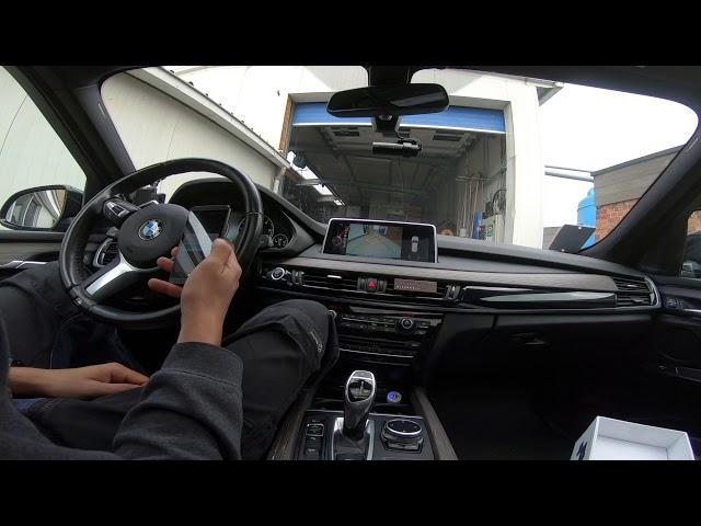 Blackvue dashcam in een X5