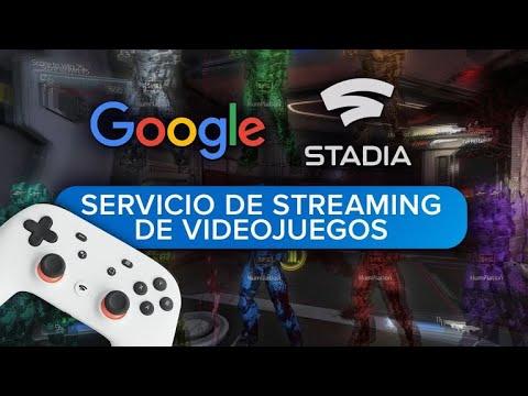 ¿Qué es Stadia? Streaming de videojuegos