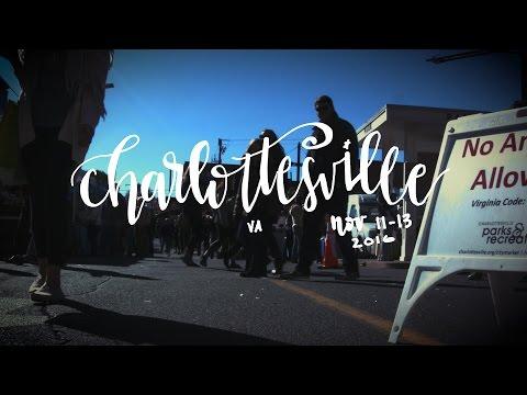 Charlottesville Va - Farmers Market and Margaritas - Travel Diary Vlog