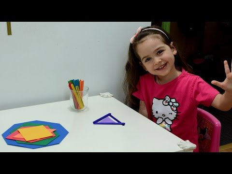 Learn Shapes - Montessori activities - toddlers kids play teaching methods toddlers learning home