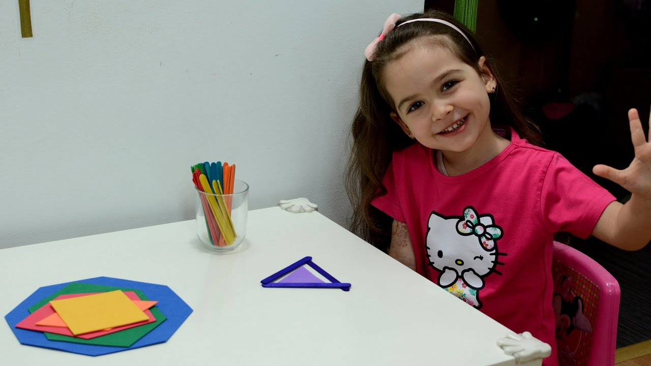 Learn Shapes Montessori Activities Toddlers Kids Play