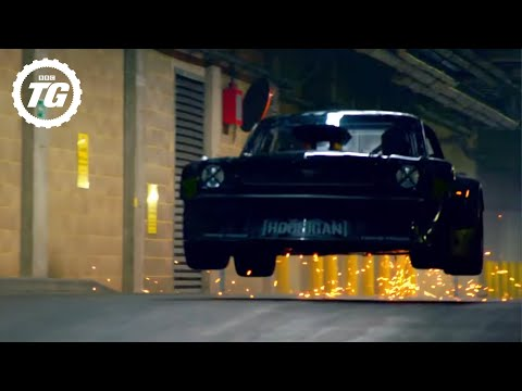 Ken Block Drifts London – EXTENDED Director's Cut - Top Gear - BBC