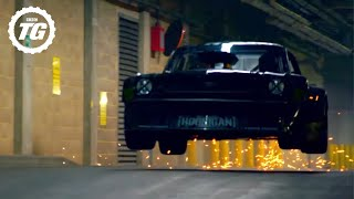 Ken Block Drifts London - EXTENDED Director's Cut | Top Gear | BBC