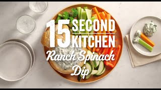 Ranch Spinach Dip Recipe