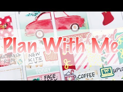 Plan With Me / Christmas Week/ Feat Simply Water Color Co