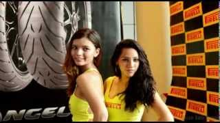 Pirelli Tires Hot Models @ Sepang MotoGP 2013