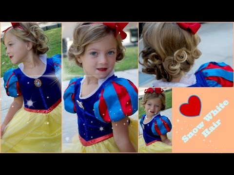 DIY Snow White Hair