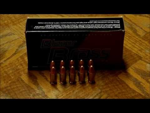 Blazer Brass 9mm Luger Ammunition Review