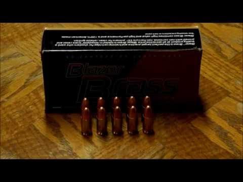 Blazer Brass 9mm Luger Ammunition Review