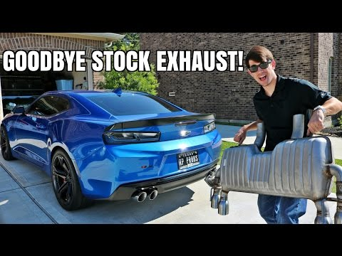 Thumbnail: NEW EXHAUST! My Camaro GETS LOUD!