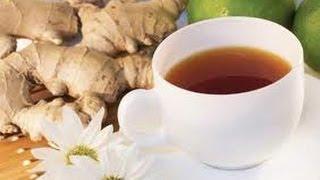 Имбирный чай для согревания и похудения