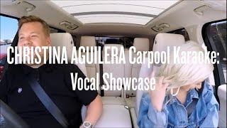 Christina Aguilera Carpool Karaoke: Vocal Showcase (F#3*-Eb5-G6)