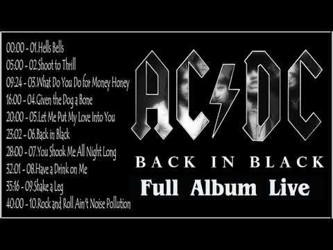 AC/DC - Back In Black Full Album 1980
