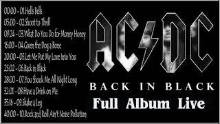 AC/DC - Back In Black Full Album 1980