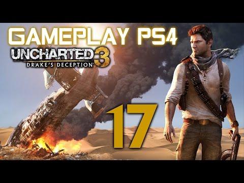 Uncharted 3: La traición de Drake Gameplay PS4 en español #17