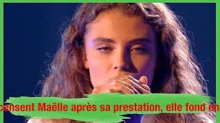 The Voice : Les coachs encensent Maëlle après sa prestation, elle fond en larmes dans les coulisses
