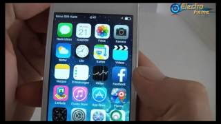 Thunderbird I5S Klon IPhone 5S Unboxing Review Test Vergleich Original (German-Deutsch) Electrofame