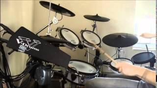 Repeat youtube video Kill la Kill [キルラキル] OP 1 - Sirius by Eir Aoi - Drum Cover