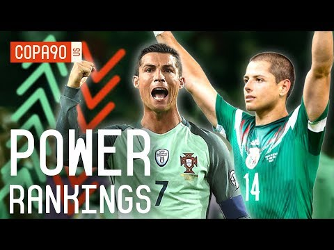 Portugal,  Mexico, and World Cup Underdogs Ranked | COPA90 Power Rankings