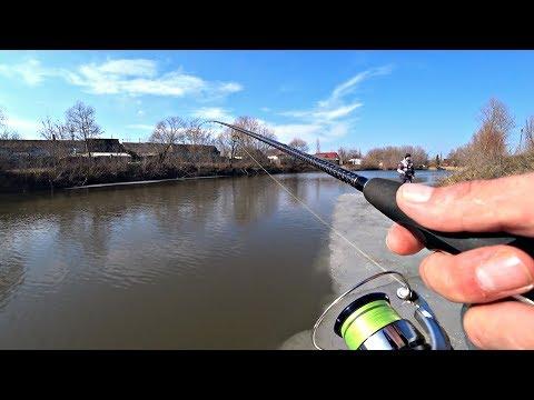 Ловля Щуки на спиннинг весной в марте. Рыбалка 2020.