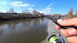 Ловля Щуки на спиннинг весной в марте Рыбалка 2020