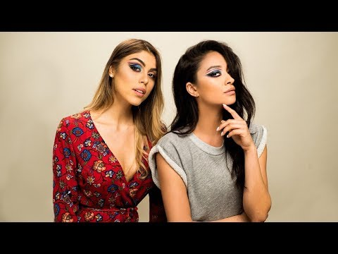 We Tried Following A NikkieTutorials Makeup Tutorial w PauTips  Shay Mitchell