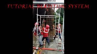 tutorial pemasangan bekisting system