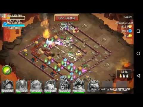 Castle Clash Expert Dungeon 7 - 8 W/o Mino Sm Vlad Or Santa