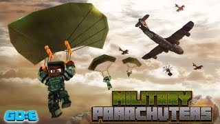 Minecraft Military Parachuters Mission 1 Gameplay :)