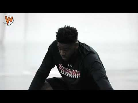 "6'6"" 225lb DJ Laster Off-Season workout"