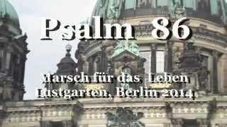 Hörbibel: Psalm 86 vorgelesen (MfdL 2014)