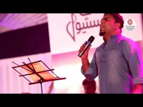 Singing Performance Music Festival Karachi 2016