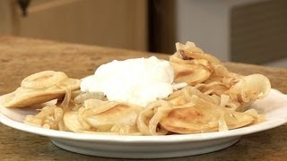 How To Make Pierogies With Butter & Onions
