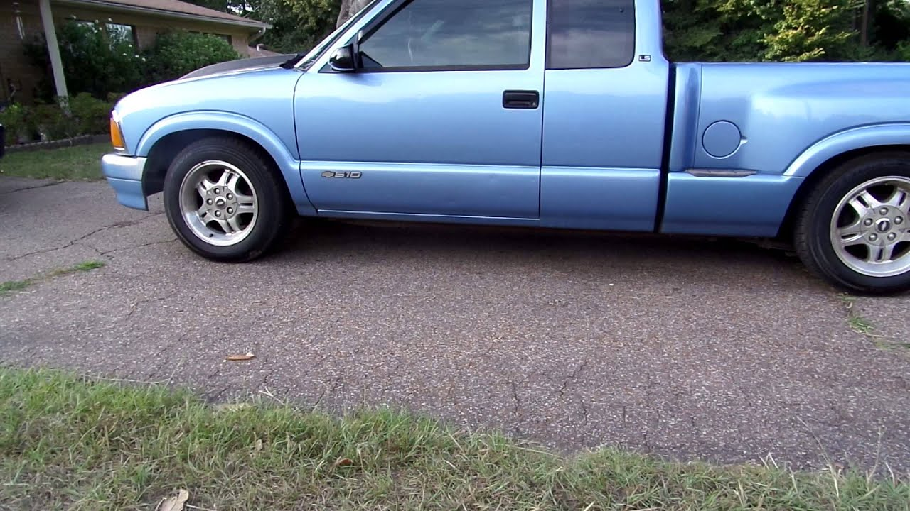 1997 Chevy S10 2-4 Lowered