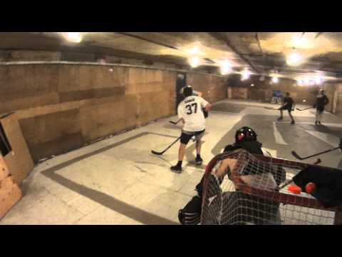Ball Hockey Goals, Saves and Dangles HD - Helmet Action Cam - Sony HDR AS20