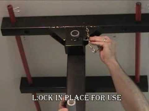 Folding Pull Up Bar Youtube