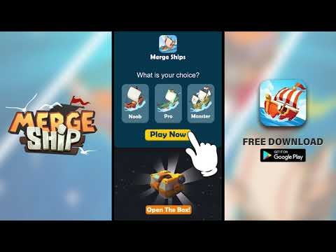Merge Ship - Idle Tycoon Game at AppGhost com