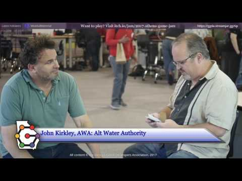 Athens Game Jam 2017 Interview with John Kirkley of Alt Water Authority