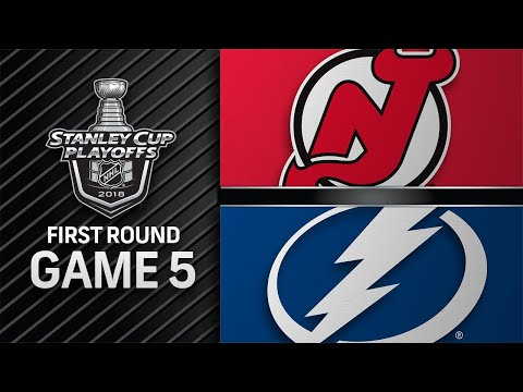 Lightning win Game 5, advance to second round