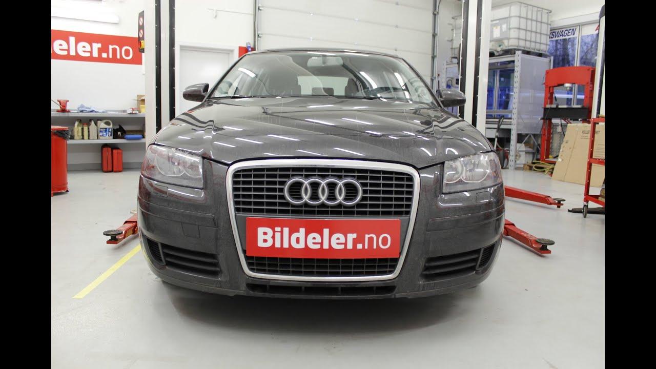 Audi A3 Hvordan Bytte Fj 230 Rbeinslager Foran 2004 Til