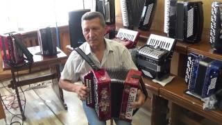 Новая гармонь со звуком 60 х годов