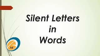 Silent Letters in Words