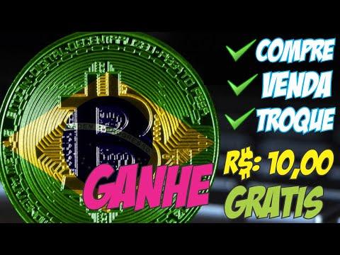 R$ 10,00 GRÁTIS - COMO COMPRAR - VENDER E TROCAR CRIPTOMOEDAS - MELHOR EXCHANGE BRASILEIRA