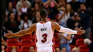 Dwyane Wade Career Highlights Compilation - One Last Dance