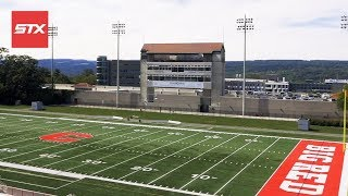 Assistant coach, Connor Buczek, takes us through the Cornell campus...